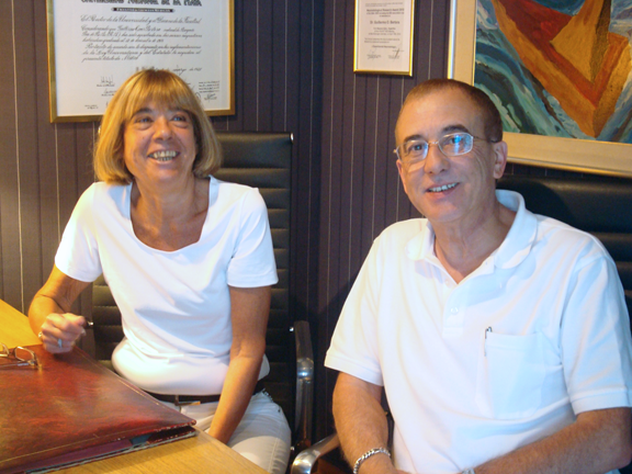Dres Julia Bergmann y Guillermo Bertora