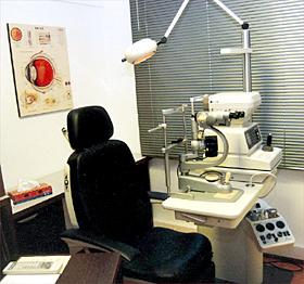 Equipo de diagnóstico oftalmológico